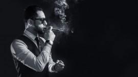 4K Man Cigarette Desktop Wallpaper For PC