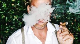 4K Man Cigarette Photo#1