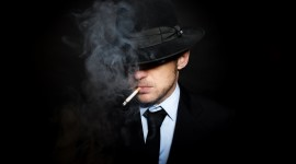 4K Man Cigarette Wallpaper For Desktop