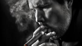 4K Man Cigarette Wallpaper For IPhone
