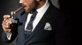 4K Man Cigarette Wallpaper For Mobile#2