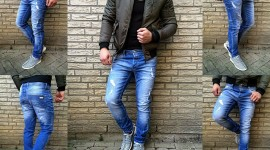 4K Man Jeans Pics