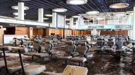 Abandoned Airport Desktop Wallpaper HD