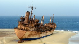 An Abandoned Ship Photo Download