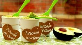 Avocado Ice Cream Wallpaper