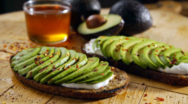 Avocado Toast Wallpaper Download Free