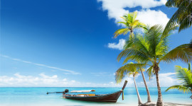Beach Boat Sand Wallpaper Gallery