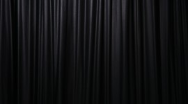 Black Curtains Wallpaper Background