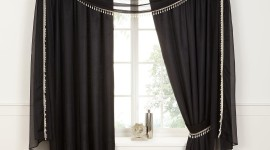 Black Curtains Wallpaper For IPhone Download