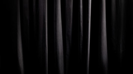 Black Curtains Wallpaper High Definition