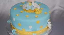 Blue Cake Photo