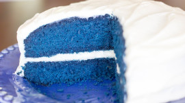 Blue Cake Photo Download