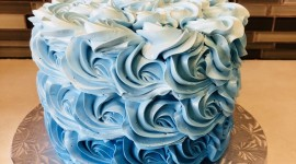 Blue Cake Wallpaper For Android