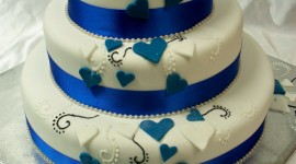 Blue Cake Wallpaper For Android#2