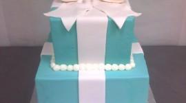 Blue Cake Wallpaper For Mobile