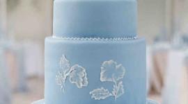 Blue Cake Wallpaper For Mobile#1