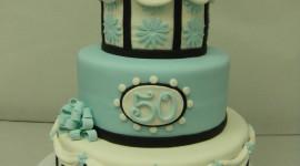 Blue Cake Wallpaper For Mobile#2