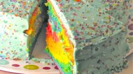 Blue Cake Wallpaper Free