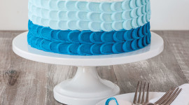 Blue Cake Wallpaper Gallery