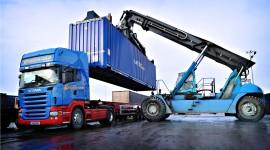 Cargo Transportation Desktop Wallpaper Free