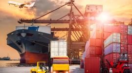 Cargo Transportation Wallpaper Background