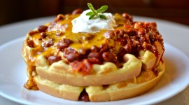 Cheese Waffles Photo Free
