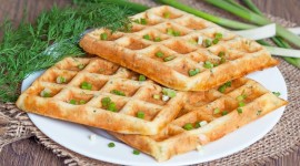 Cheese Waffles Wallpaper Free