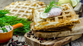 Cheese Waffles Wallpaper Gallery