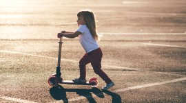 Child Scooter Photo