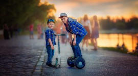 Child Scooter Photo Download