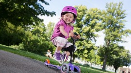 Child Scooter Photo Free