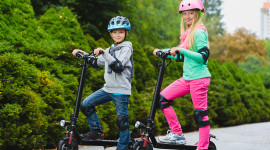 Child Scooter Wallpaper Gallery