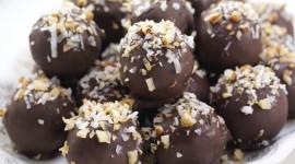 Chocolate Balls Wallpaper Download Free