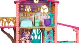 Cozy Deer House Wallpaper For PC