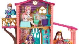Cozy Deer House Wallpaper Free