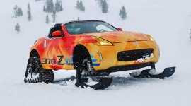 Drift In The Snow Wallpaper Download Free
