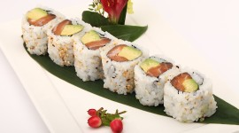 Eel Roll Wallpaper Download