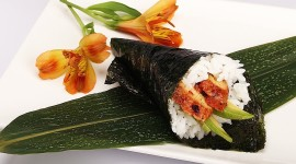 Eel Roll Wallpaper Download Free