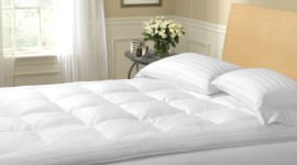Feather Bed High Quality Wallpaper