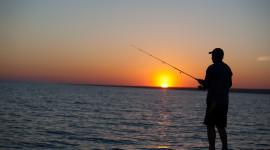 Fisherman's Sunset Desktop Wallpaper