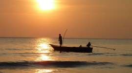 Fisherman's Sunset Photo