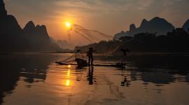 Fisherman's Sunset Photo Download