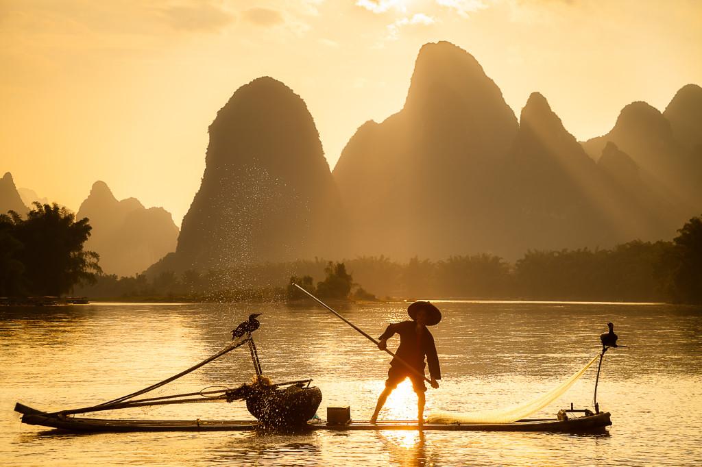 Fisherman's Sunset wallpapers HD