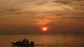 Fisherman's Sunset Wallpaper For Desktop