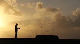 Fisherman's Sunset Wallpaper Full HD