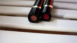 Flesh-Colored Lipstick Wallpaper