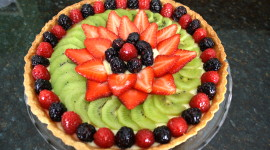 Fruit Tartlet Wallpaper
