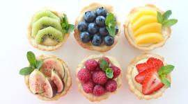 Fruit Tartlet Wallpaper For Desktop