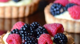 Fruit Tartlet Wallpaper For IPhone