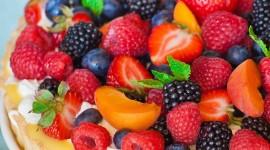 Fruit Tartlet Wallpaper For IPhone Free